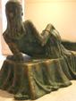 Danseuse allongée
