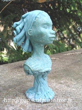 Félicité Bonnaventure (buste)