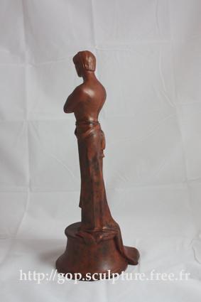Inspiration Art Nouveau: l'Attente