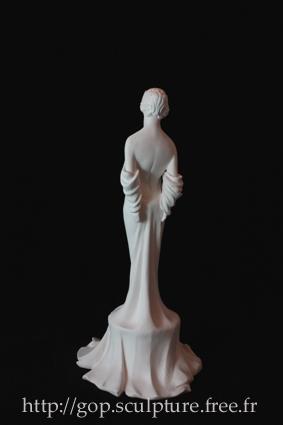 Inspiration Art Nouveau: Femme drapée